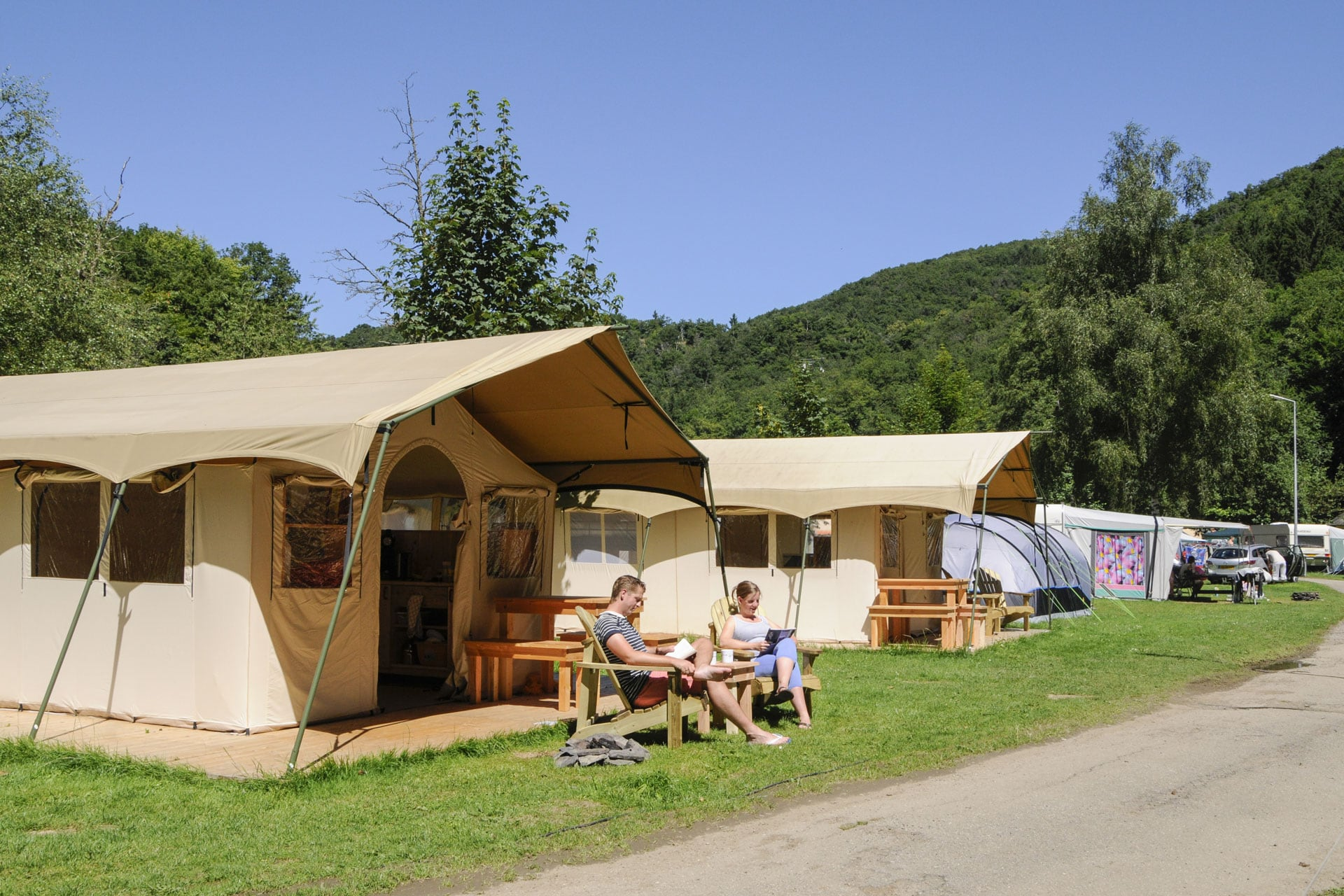 Safari-tents - Camping Kautenbach