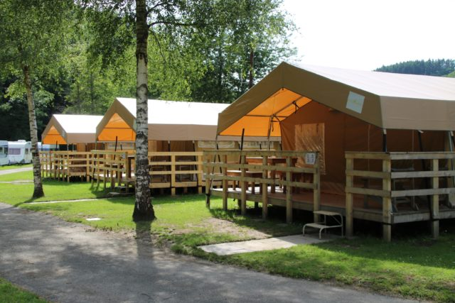 Tentes-Safari - Camping Kautenbach