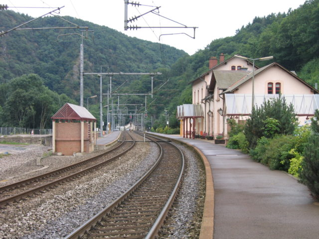Per trein - Camping Kautenbach
